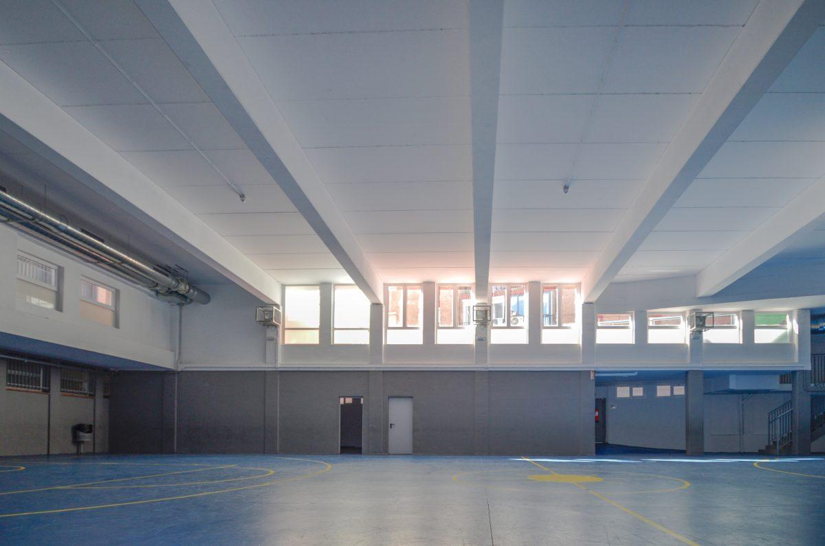 poliesportiu badalona reformes i ampliacio edifici
